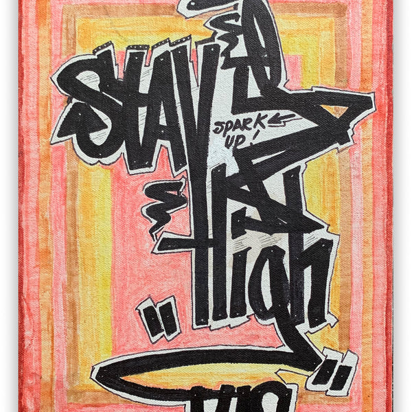 "STAYHIGH 149 ""Spark Up"" Painting"