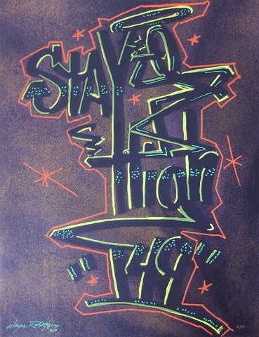 "STAYHIGH 149 - ""Tag (brown)"" Print"