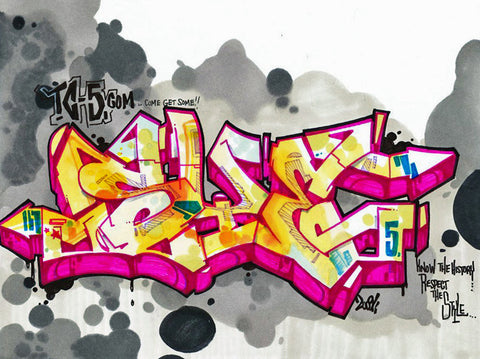 "SYE - ""Grey Sky""  Blackbook Drawing #2"