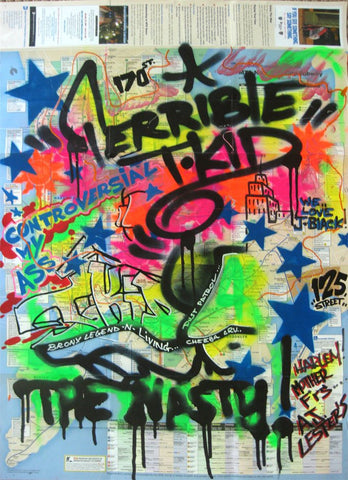 "T-KID 170  -  Map ""Terrible T-Kid"""