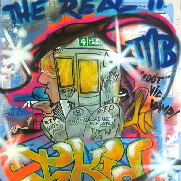 "T-KID 170  -  Map ""The Real"""