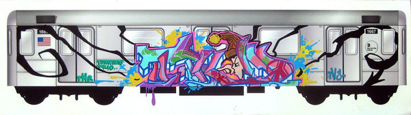 "T-KID  ""Untitled"" Trains of Thought"