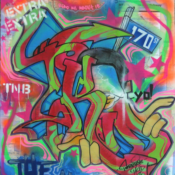 "T-KID 170  -  Map ""The Nasty"""