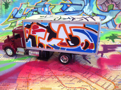 "TKID 170 - 8"" DIY Box Truck- Painted"
