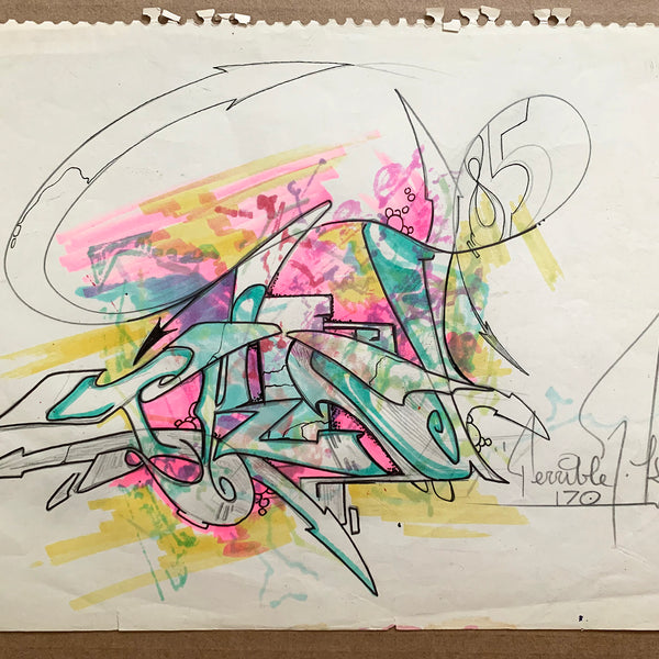 "T-KID 170 - ""85"" Drawing 1985"
