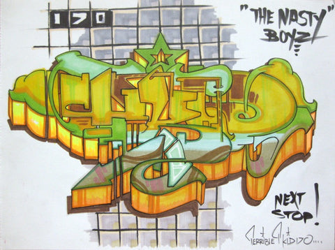 "T-KID 170  - ""Next Stop"" Drawing"