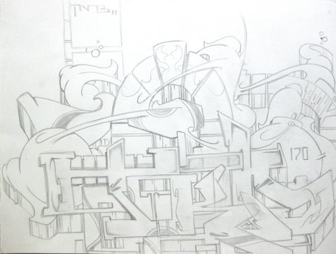 "T-KID 170  - ""Pencil"" Drawing"
