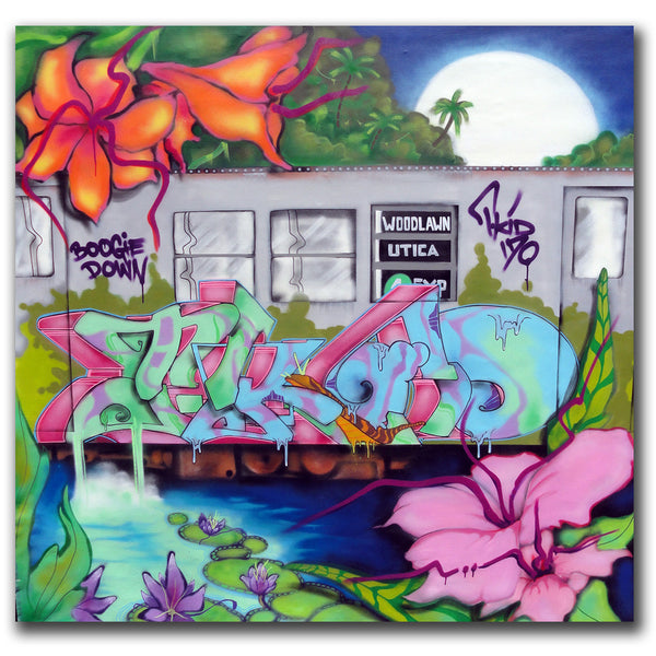 "T-KID 170  - ""Back in da Jungle"" Painting"