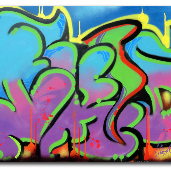 "T-KID 170  - ""Deep"" Painting"