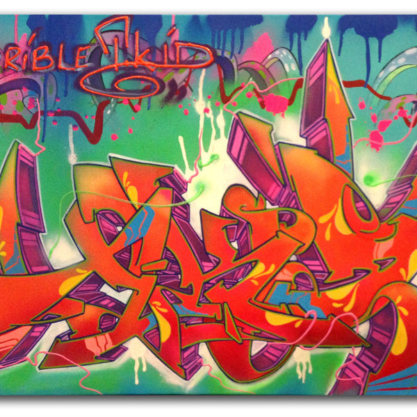 "T-KID 170  - ""Far Away"" Painting"