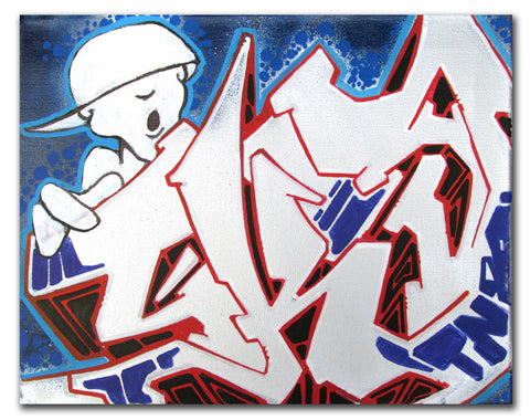 "T-KID 170  - ""Untitled 4"" Painting"