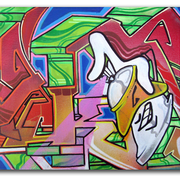 "T-KID 170  - ""Spray"" Painting"