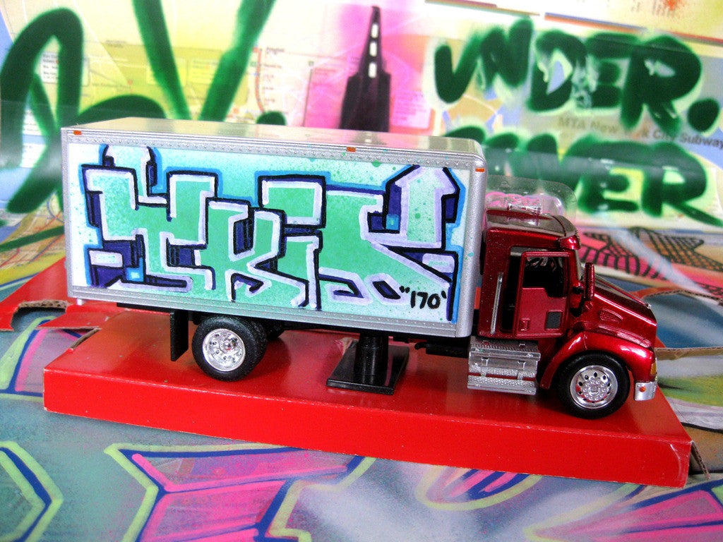 "TKID 170 - 8"" Box Truck- Painted #4"