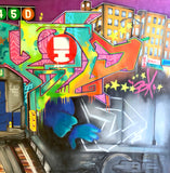 "T-KID 170  - ""Uptown""  LARGE Painting"