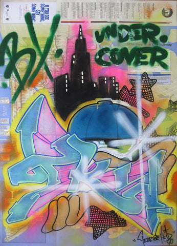 "T-KID 170  -  Map  ""Under Cover"""