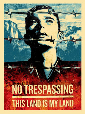 "SHEPARD FAIREY - ""This Land is Your Land"""