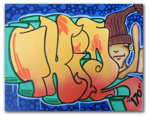 "T-KID 170  - ""Bubbles"" Painting"
