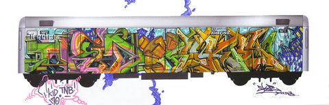 "T-KID/SKE ""Untitled"" Trains of Thought"