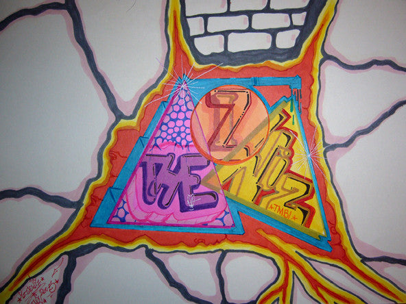 IZ THE WIZ - Untitled Drawing #2