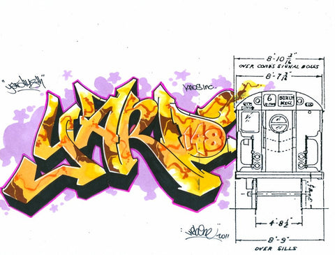 "WEB TC5 - ""Yard""  Blackbook Drawing"