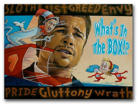 DAVE MACDOWELL - Whats in the Box!? - Painting