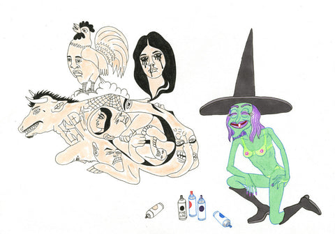 MATT FURIE/ALBERT REYES - Witch Graffiti