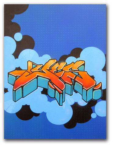 "YES2 - ""untitled"" painting"