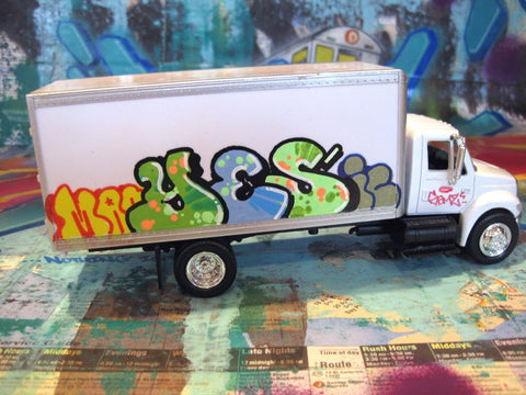 "YES2 - 8"" DIY Box Truck- Painted"