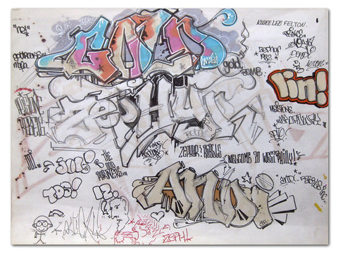 "ZEPHYR - ""Untitled"" Black Book Page"