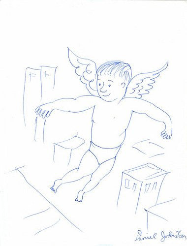 "DANIEL JOHNSTON -  ""Daniel (angel)"""