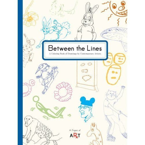 Between the Lines: A Coloring Book of Drawings by Contemporary Artists (Paperback)