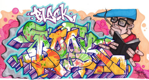 "DONTAY - ""Black Book""  Blackbook Drawing"