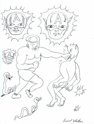 "DANIEL JOHNSTON -  ""The Boxer"""
