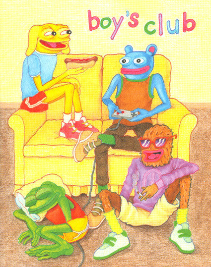 MATT FURIE - Boys Club Zine