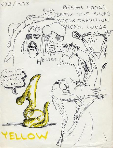 "DANIEL JOHNSTON -  ""Break Loose"""