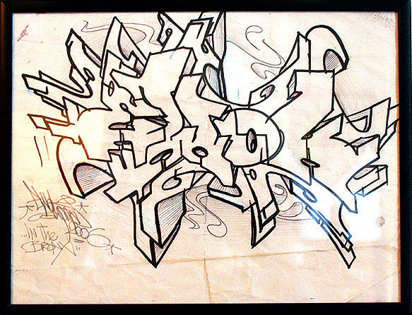 "EWOK 5MH  -  ""Bronx Outline"""