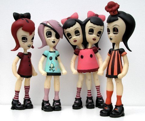 CAMILLE ROSE GARCIA - Set of 4 Vinyl Figures