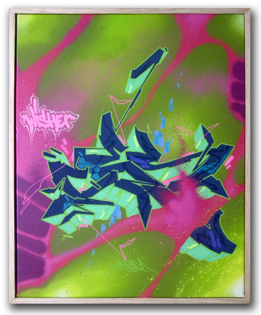 "CES ONE - ""Wisher"" Painting"