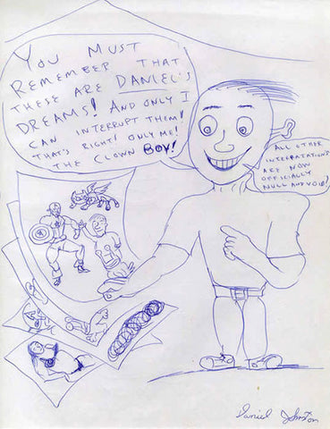 "DANIEL JOHNSTON -  ""Daniels Dreams"""