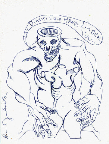 "DANIEL JOHNSTON -  ""Deaths Cold Hands"""
