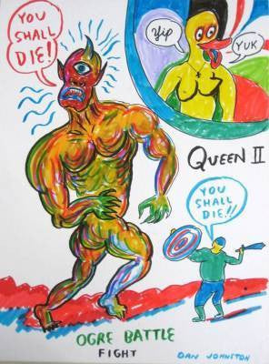 "DANIEL JOHNSTON -  ""You shall die"""
