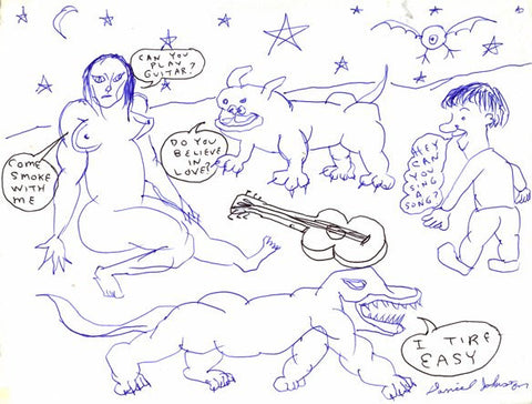 "DANIEL JOHNSTON -  ""Can You Play Guitar"""