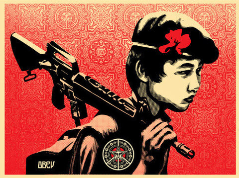 SHEPARD FAIREY - Duality of Humanity 2