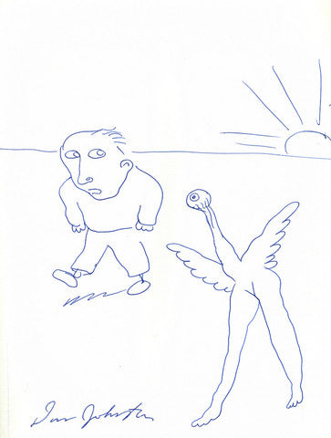 "DANIEL JOHNSTON -  ""Watching Over Me"""