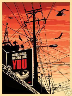 "SHEPARD FAIREY - ""Big Brother"""