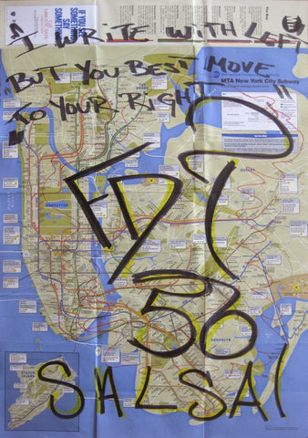 "FDT 56- ""Untitled"" NYC Map"