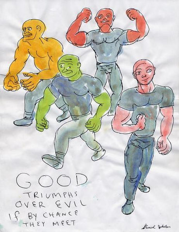 "DANIEL JOHNSTON -  ""Good"""