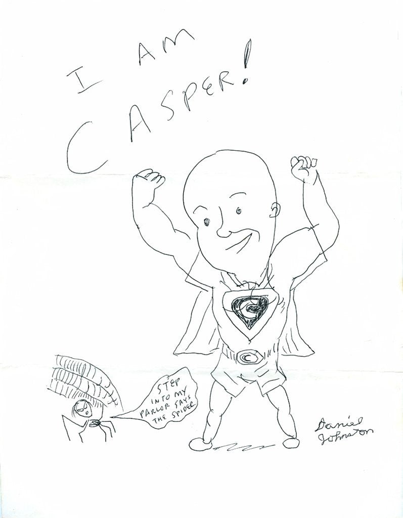 "DANIEL JOHNSTON -  ""I am Casper"""