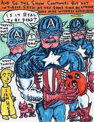 "DANIEL JOHNSTON -  ""Is It Real To Be Dead"""