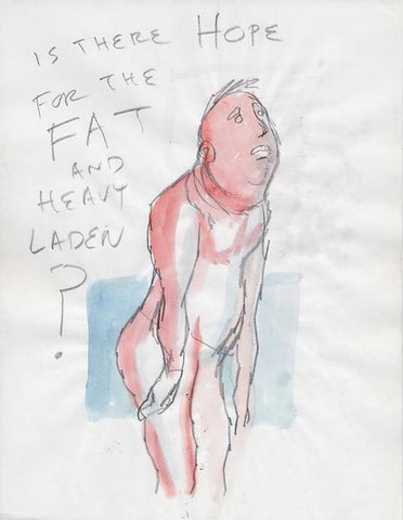 "DANIEL JOHNSTON -  ""Is there hope"""